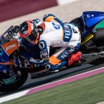 Augusto places eleventh on first day in Qatar