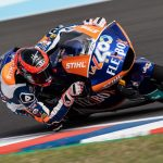 Augsuto Fernandez fourth on first day in Argentina