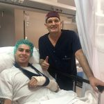 Augusto Fernández undergoes successful surgery